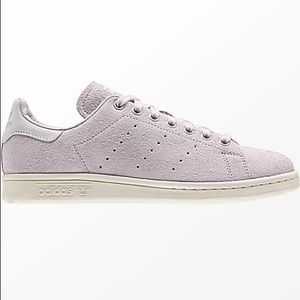 COPY - ADIDAS Stan Smith Hairy Suede Shoes Purple